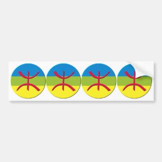 4 stickers carosserie auto berbere amazigh