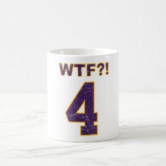 #4 WTF?! Brett Favre? Vikingen? de pro Verpakkers Koffiemok