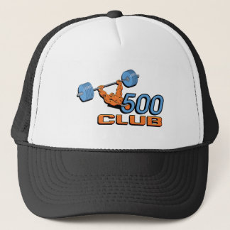500 club trucker pet