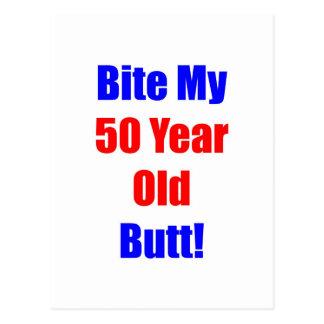 50 bijt Mijn Uiteinde Briefkaart