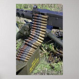 .50 Cal Machinegeweer Poster