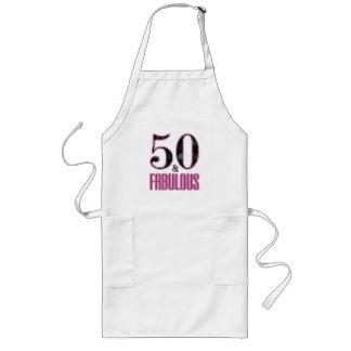 50 & de Fabelachtige Roze Zwarte Verjaardag van de Lang Schort
