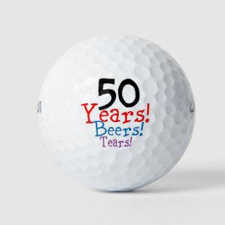 50 de Scheuren van de Bieren van de jaar Golfballen