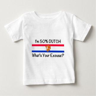 50% het Nederlands Baby T Shirts