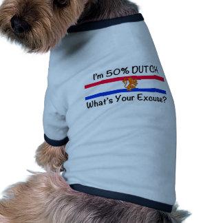 50% het Nederlands Huisdieren Shirt