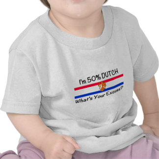 50% het Nederlands Tshirt