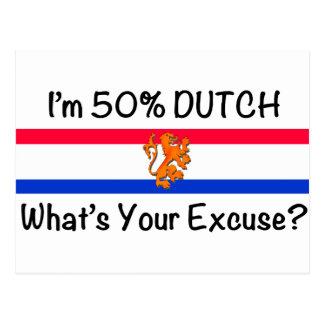 50 het Nederlands Wenskaart