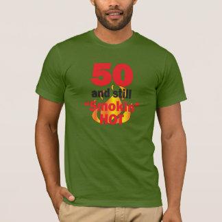 50 jaar Oud en nog Hete Smokin - 50ste Verjaardag T Shirt