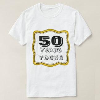 50 jaar van de Jonge 50ste Verjaardag T Shirt