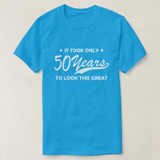 50 jaar van de T-shirt