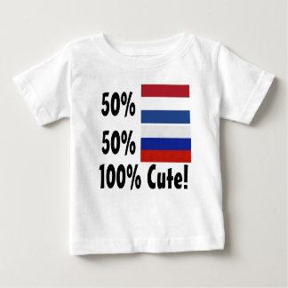 50% Nederlandse 50% Leuke Rus 100% Baby T Shirts