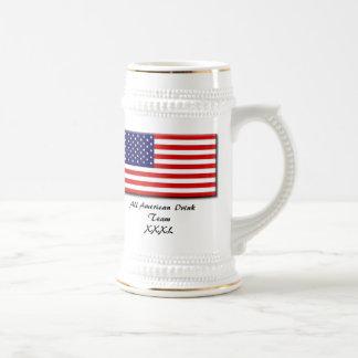 50star-groot, Al Amerikaanse Drank TeamXXXL Koffie Beker