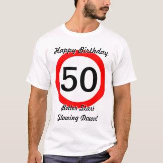 50ste Grap 50 van de Verjaardag de Maximum T Shirt