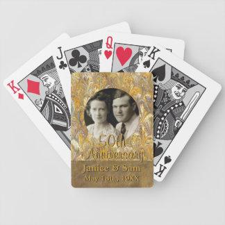 50ste Jubileum | van het Huwelijk Pak Kaarten