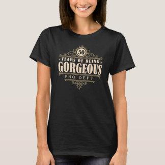 50ste Verjaardag (50 Jaar van Schitterend het T Shirt