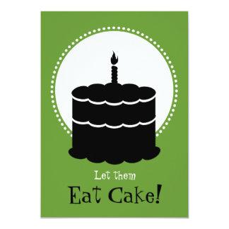50ste Verjaardag - Margarita versus Cake Kaart