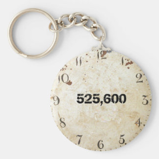 525,600 minuten sleutelhanger