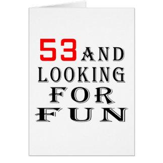 53 en het zoeken van het design van de kaart