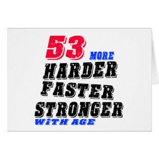 53 Hardere Snellere Sterker met Leeftijd Briefkaarten 0