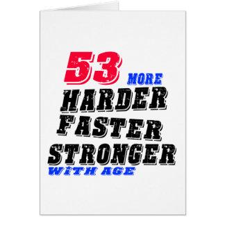 53 Hardere Snellere Sterker met Leeftijd Kaart