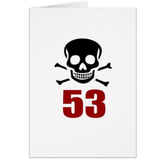 53 het Design van de verjaardag Briefkaarten 0