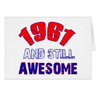 53 jaar het oude Design van de Verjaardag Briefkaarten 0