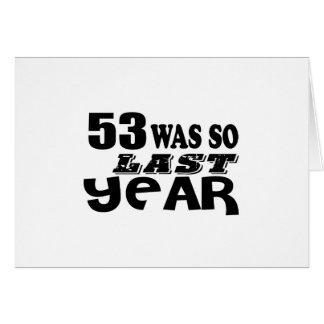 53 zo was zo vorig jaar het Design van de Kaart