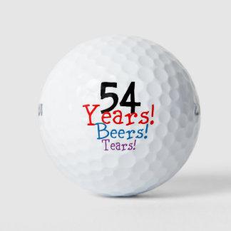 54 de Scheuren van de Bieren van de jaar Golfballen