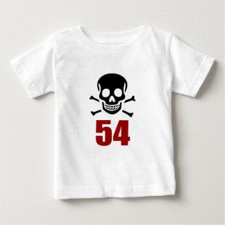 54 het Design van de verjaardag Baby T Shirts