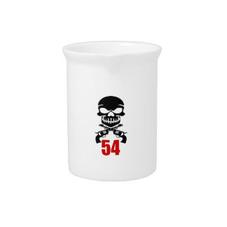 54 het Design van de verjaardag Drank Pitcher