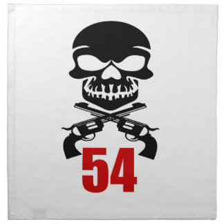 54 het Design van de verjaardag Katoenen Servet