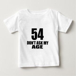54 vraag Mijn Design van de Verjaardag van de Baby T Shirts