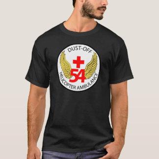54ste Medisch Detachement - stof-weg - Helikopter T Shirt
