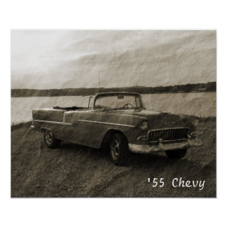 '55 Chevy Poster