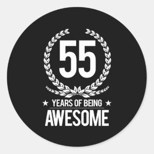 55 Jaar Verjaardag