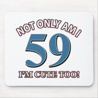 59 jaar oud muismat en 59 jaar oud muismatten - Kamerjongen jaar oud ...