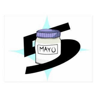5 DE Mayo Briefkaart
