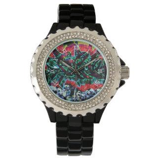 5 de Schedels Graffiti van Pointz New York Horloge