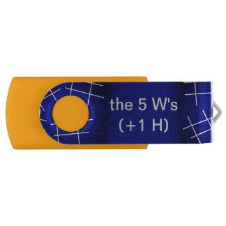 5 W's (+1 H) USB DOOR DAL