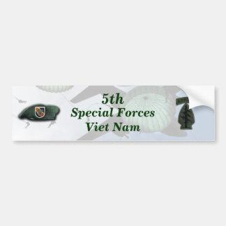 5de speciale krachten groene baretten Vietnam nam Bumpersticker