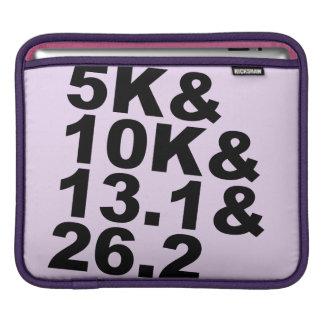 5K&10K&13.1&26.2 (blk) Beschermhoes Voor iPad