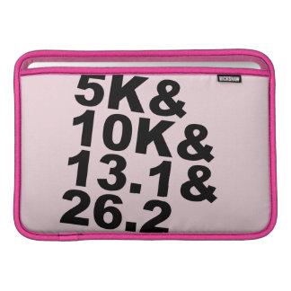 5K&10K&13.1&26.2 (blk) MacBook Sleeve