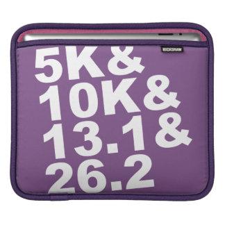 5K&10K&13.1&26.2 (wht) iPad Beschermhoes