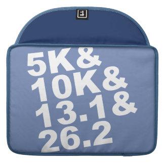 5K&10K&13.1&26.2 (wht) Sleeve Voor MacBooks