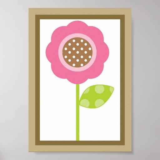 5X7 de Tuin van de bes bloeit het Art. van de Muur Poster