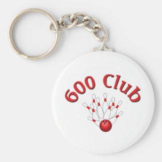600 club 3 sleutelhanger