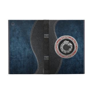 [600] de God [Zilveren] Quetzalcoatl van het iPad Mini Cover