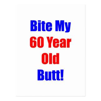 60 bijt Mijn Uiteinde Briefkaart