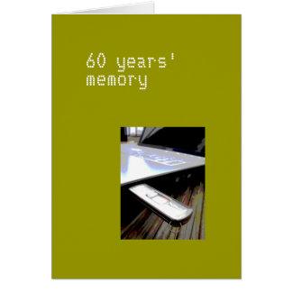 60 jaar kaart