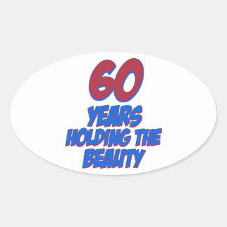 60 jaar oud stickers - Kamerjongen jaar oud ...